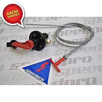 Set FIA Batterietrennschalter 6-polig Bowdenzug Aufkleber Not-Aus ...