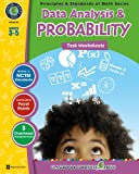Data Analysis and Probability, Grades 3-5, Tanya Cook, 1553194683