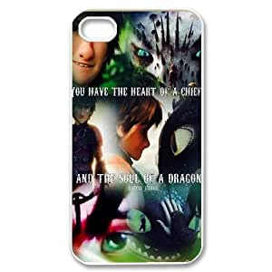 YUAHS(TM) Personalized Hard Back Cover Case for Iphone 4,4S with How to Train Your Dragon YAS375258