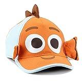 Disney Finding Dory & Nemo Boys Baseball Cap (Orange/Powder Blue)