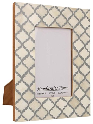 Moroccan Inspired Handicrafts Home White Grey product image