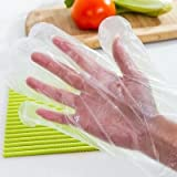 Disposable Clear Plastic Gloves,500 PCS Plastic