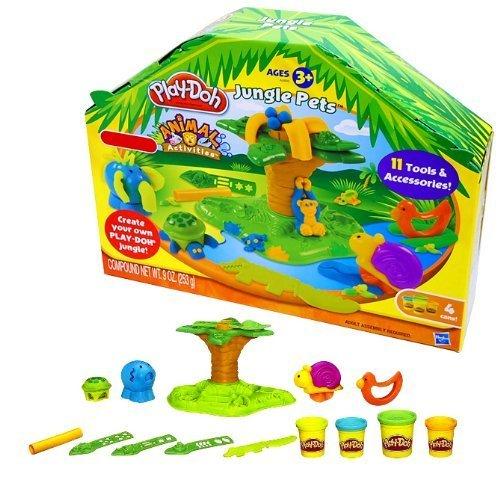 Play Doh Animal Activities Jungle Pets product image