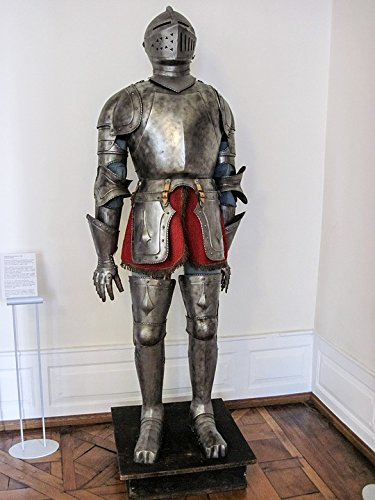 Home Comforts Canvas Print Ritterruestung Old Knight Armor Knight Historically Stretched Canvas 10 x 14 ()