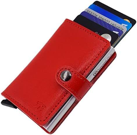 Card Blocr RFID Wallet Leather Credit Card Holder, Best RFID Blocking Wallet & Front Pocket Wallet Design