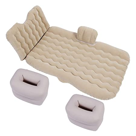 ZCY-Auto Mattress Cama Inflable para Coche, colchón Inflable ...