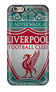 PhilHolmes Iphone 6 Excellent Hard Phone Covers Support Personal Customs Realistic Liverpool Fc Logo Image [wTL14008HfzN]
