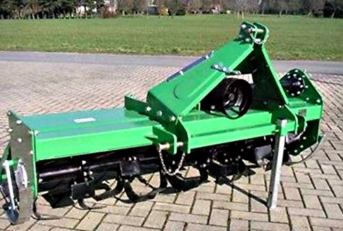 Rotary Tiller TL-135 Width 53'' Offsetable with PTO Shaft 3 Pt Cat 1 Linkage for Tractors with 22-35 HP and Cat 1 - 3 Pt Hitch by Western Pacific
