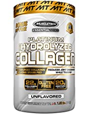 Collagen Peptides Powder | MuscleTech Hydrolyzed Collagen Powder | Collagen Supplements for Women and Men | Collagen Protein Powder | Unflavored, 1.5 lbs (62 Servings)