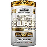 """MuscleTech Platinum 100% Hydrolyzed Collagen, Collagen Peptides, Unflavored, 1.5 Pounds"" For Sale"