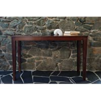 Bamboogle 10-1448J Brazil Collection Modern Bamboo Console Table in Rich Java Espresso Finish