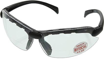254ba137f5d C-2000 Bifocal Safety Glasses 1.25 - CC125 - - Amazon.com