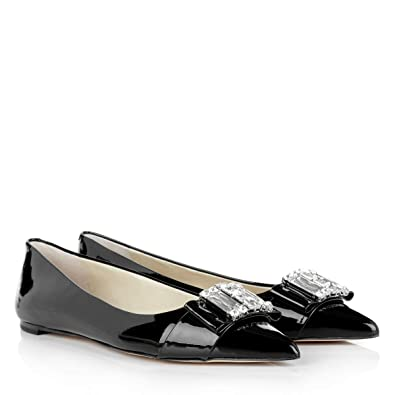 9296b6514 Michael Michael Kors Womens Michelle Pointed Toe Slide Flats, Black, Size  5.0