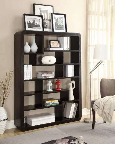 Coaster Home Furnishings Casual Bookcase, Red Cocoa For Sale