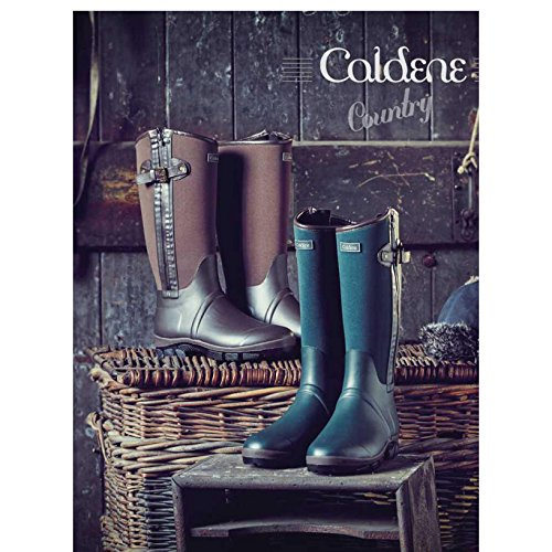 Caldene Unisex Adults Bramham Country Wellingtons (12 US) (Chocolate)