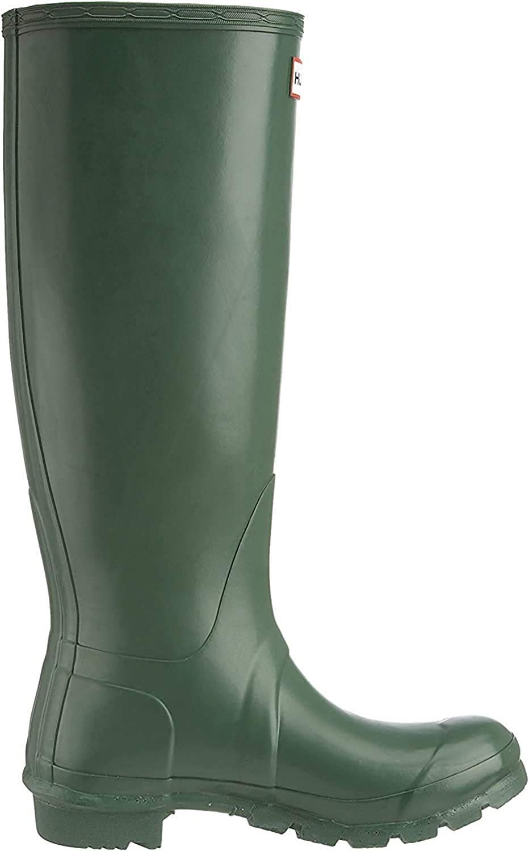 HUNTER Damen Original Tall Wellington Boot Gummistiefel, Blau (Bright Peacock), 45/46 EU Hunter Green