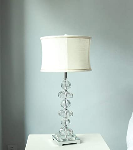 Moderna Affascinante Lampada da tavolo di cristallo di ...