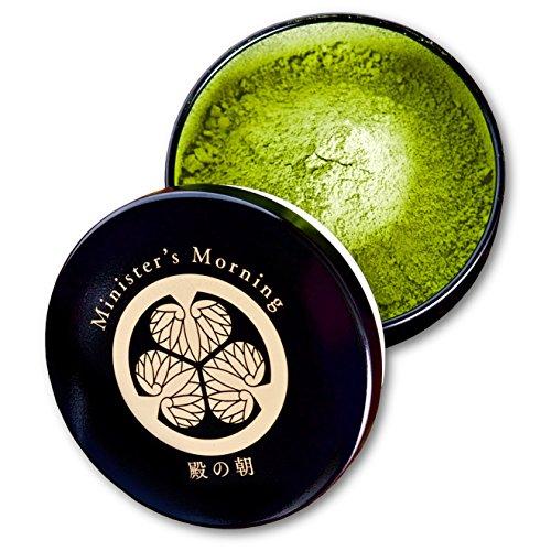 "Organic Matcha 50g, ""Minister's Morning"" green tea, pesticide-free, from Shizuoka, Japan"