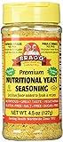 Bragg Nutritional Yeast Seasoning, 4.5 Oz (Pack Of 6)
