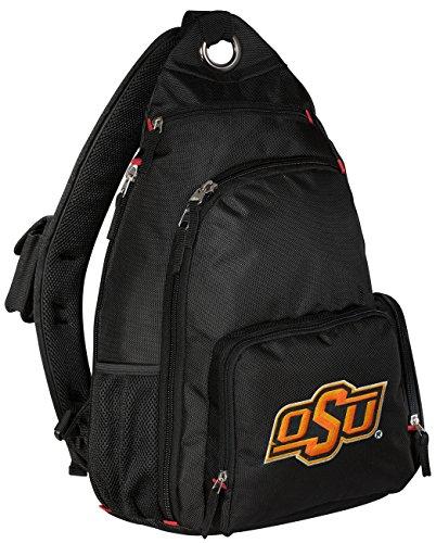 (Broad Bay Oklahoma State Backpack Single Strap OSU Cowboys Sling Backpack)