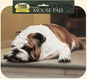 Fiddler's Elbow Bulldog on Porch Mouse Pad
