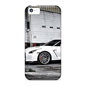 MMZ DIY PHONE CASEWaterdrop Snap-on White Gtr Case For iphone 5c