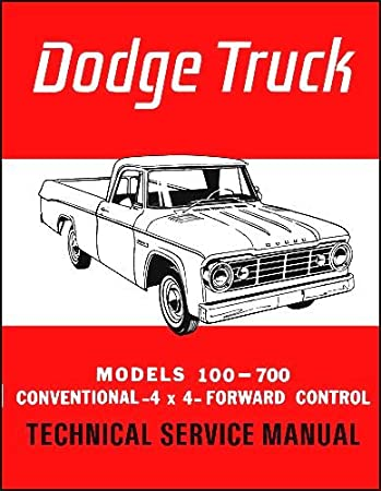 amazon com factory shop service manual for 1965 dodge trucks rh amazon com owners manual dodge ram 2003 service manual dodge ram 1500