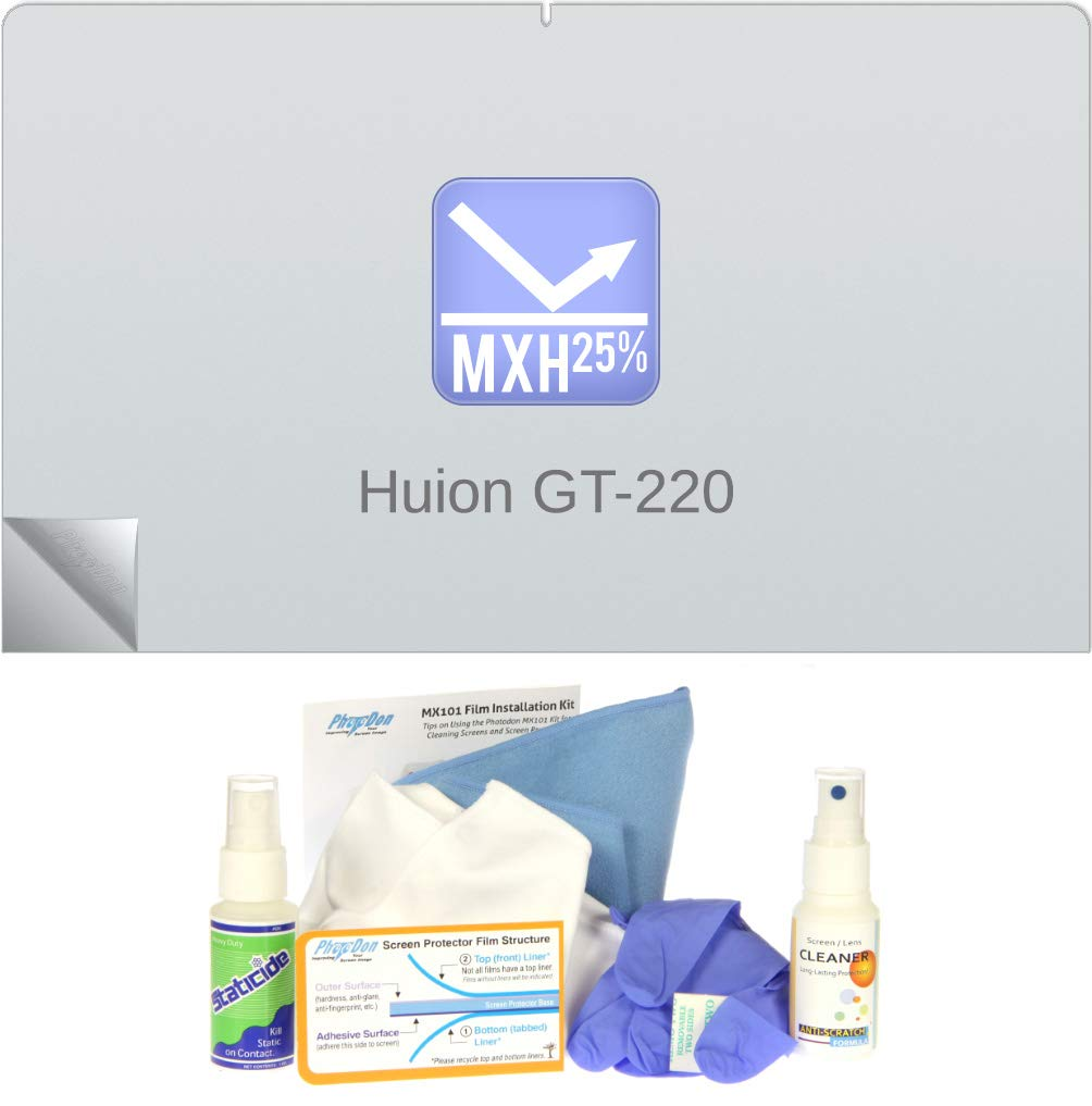 Photodon Screen Protector for Huion GT-220 21.5-inch Drawing Tablet - (MXH) Kit Type: MX101