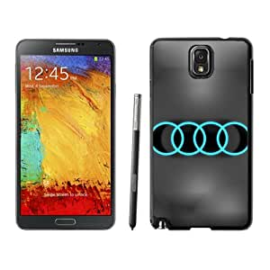 Audi Neon Logo Durable High Quality Samsung Note 3 Case
