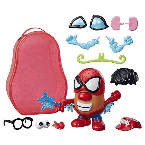 Spud Parts - Playskool Friends Mr. Potato Head Marvel Spider-Spud Suitcase