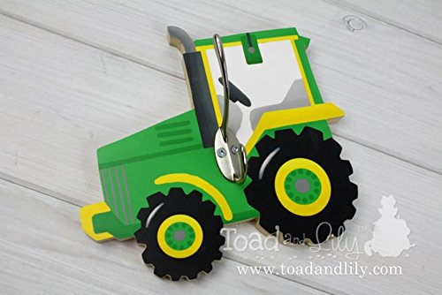 Green Tractor Clothes Peg Rack Clothing  - Personalized Peg Rack Shopping Results