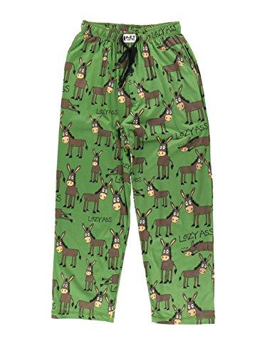 Lazy Ass Men's Pajama Pants Bottom by LazyOne   Pajama Bottom for Men (Small)