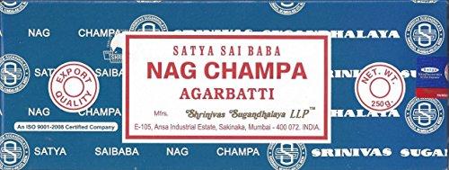 Satya Sai Baba Nag Champa Agarbatti Incense, 250 gm