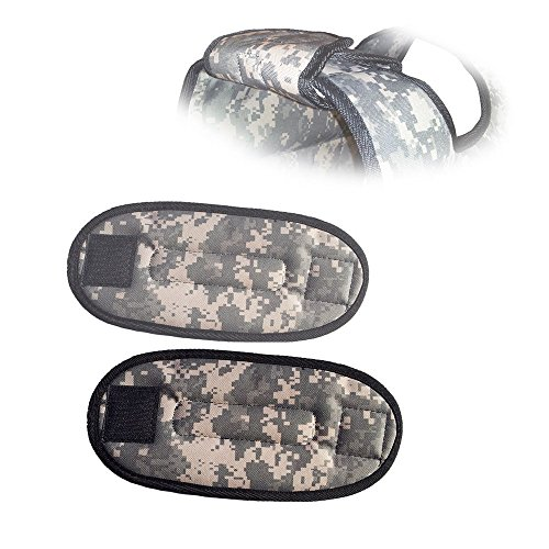 CROSS101 Camouflage Shoulder Pads for Weighted Vest by CROSS101