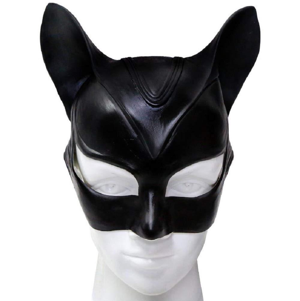 mascara para cosplay catwoman