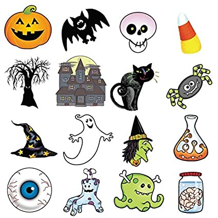 Amazon.com: Halloween Bingo Game for 16 players: Kitchen & Dining