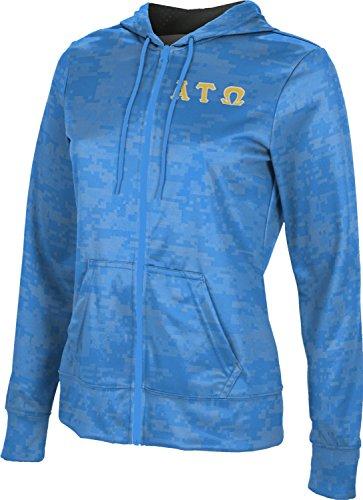- Alpha Tau Omega Women's Zipper Hoodie, School Spirit Sweatshirt (Digital) 30A54