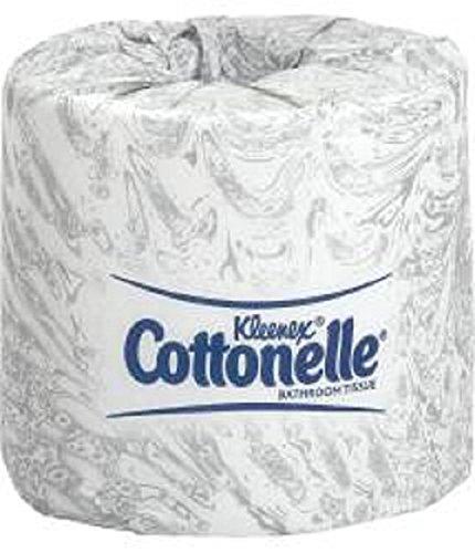 KIM17713 - Kleenex Cottonelle 2 Ply Bathroom Tissue, 505 Sheets/Roll, 60 Rolls/Carton