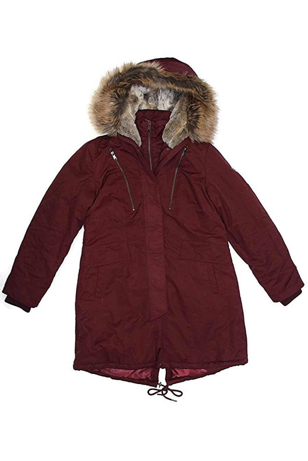 1 Madison Expedition Women's Faux Fur Hooded Parka Jacket
