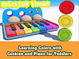 Learning Colors with Cookies and Piano f