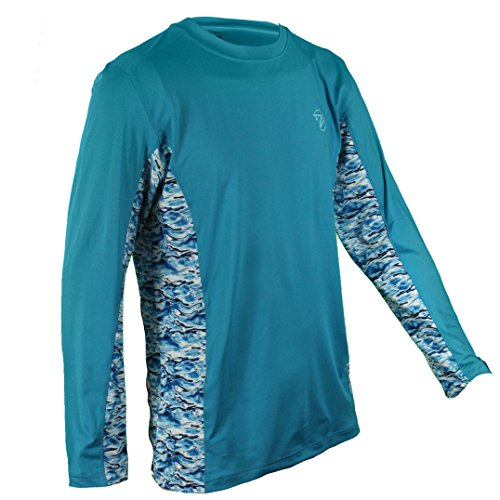 - Gillz Waterman Long Sleeves, Blue, 2X Large