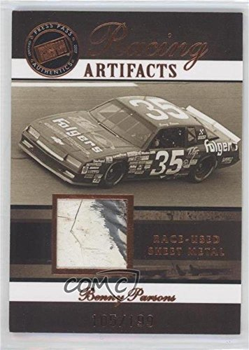 Press Pass Legends Racing (Benny Parsons #105/199 (Trading Card) 2007 Press Pass Legends - Racing Artifacts - Sheet Metal Bronze #BP-S)