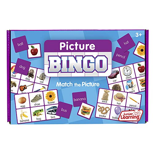Junior Learning Picture Bingo Educational Action ()