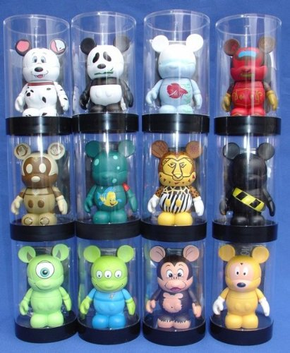 Protech Disney Vinylmation Single Figure Display Cases, 12 Ct. (Figurines Not Included)