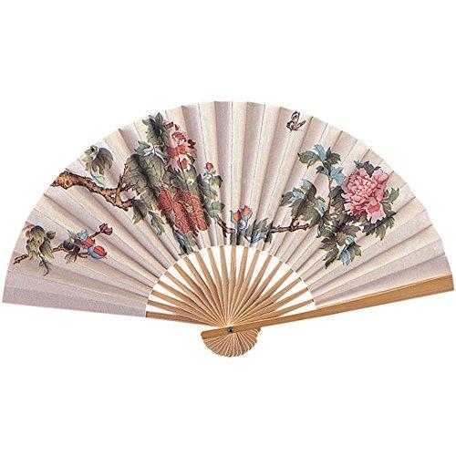 [Costume Paper Fan - fun with geisha costumes!] (Fan Costumes)