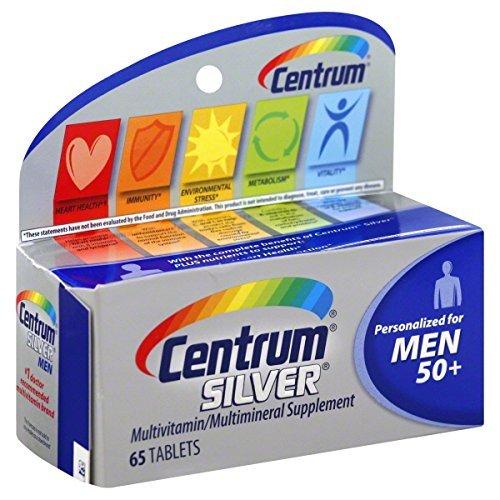 Centrum Silver Men 50+ Multivitamin Tablets 65 - Men Tablets 100