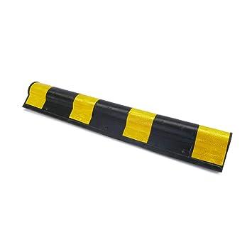 PrimeMatik - Protector de esquina para coche. Composición de goma con reflectores para parking. 79,5cm 1pack.: Amazon.es: Electrónica