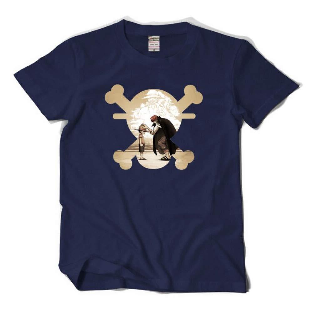 BIG LION One Piece T-Shirt Anime Summer Monkey D Luffy Cosplay T Shirt Short Sleeve Tees