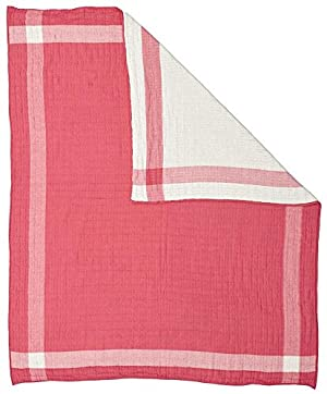 Pehr Designs Side Kick Quilted Muslin Blanket - Fuchsia, Fuschia