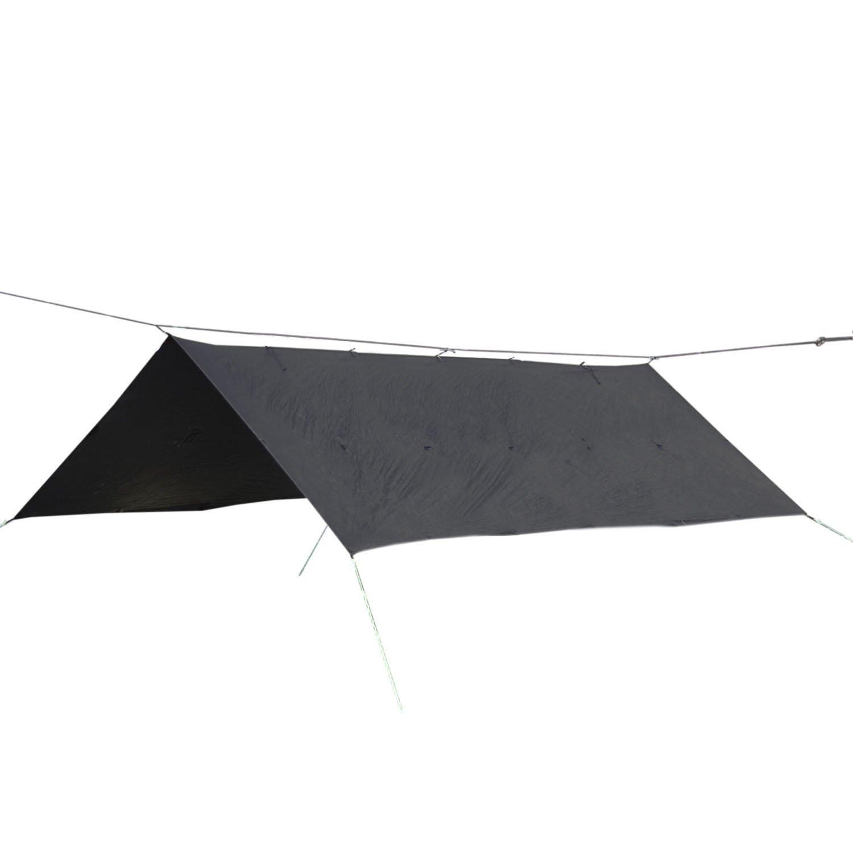 ORIGAMI TARP オリガミタープ 4.5m×3m B06Y1FWJQ6  ブラック